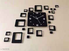 Clocks Trendy Acrylic Wall Clock Material: Plastic Pack: Pack of 1 Country of Origin: India Sizes Available: Free Size   Catalog Rating: ★4.1 (2055)  Catalog Name: Graceful Wall Clocks CatalogID_1798937 C127-SC1440 Code: 094-10056618-5511