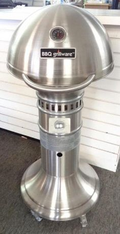 Stainless steel BBQ Grillware pedestal gas grill model - have this grill trying to find one for a gift.