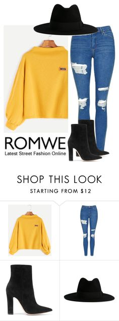 """~349349~"" by taytay-55 ❤ liked on Polyvore featuring Topshop, Gianvito Rossi and Yves Saint Laurent"