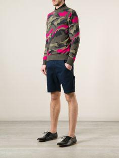 Valentino Camouflage Sweater.