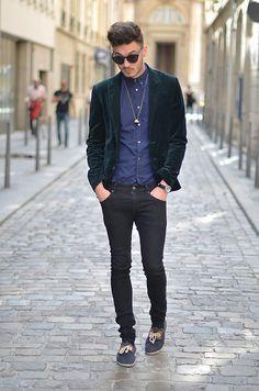 velvet dapper / #streetstyle / #MIZUstyle