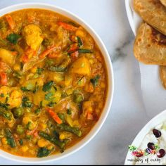 Vegetable Kurma is a South Indian style curry of mixed vegetables cooked in a creamy coconut cashew based sauce, lightly spiced with cinnamon and cloves and fennel. Veg Recipes, Curry Recipes, Indian Food Recipes, Cooking Recipes, Indian Vegetable Recipes, South Indian Vegetarian Recipes, South Indian Curry Recipe, South Indian Food, Veg Curry