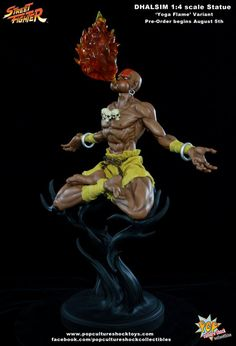 POP CULTURE SHOCK DHALSIM STREET FIGHTER STATUE PRE-ORDERS START ON AUGUST 5TH