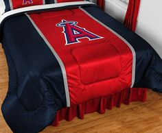 Use this Exclusive coupon code: PINFIVE to receive an additional 5% off the Los Angeles Angels MLB Sidelines Comforter at SportsFansPlus.com