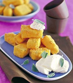 Barrette di polenta ai formaggi