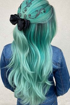 Delicate Half-Up Hairstyle With A Bow ❤ Homecoming hairstyles are all different. Yet, all of them are gorgeous and unique. And it is always up to you to choose your perfect one! #homecominghairstyles #lovehairstyles #hair #hairstyles #haircuts