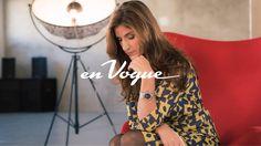 Anne Carrad pour l'émission de la RTS en Vogue How To Wear, En Vogue