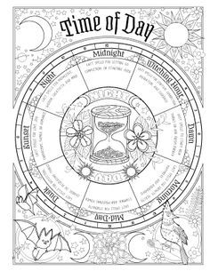 Book of Spells - Coloring Book of Shadows