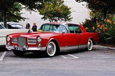 1958 Facel Vega hardtop sedan - perhaps the coolest car you've never seen...: