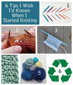 "My latest Craftsy blog post. My original title was ""6 Tips I Wish I'd Known When I Started Knitting"". The editor added the ""from an expert"" part to the title! I don't claim to be an expert but I do think these tips will help your knitting.."