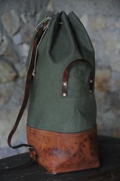 "completewealth: ""Duffle Rucksack Filed under: Accessories, Duffles, Rucksacks, Bags """