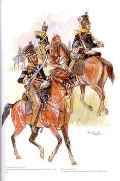 British light dragoons Waterloo 1815, Battle Of Waterloo, British Soldier, British Army, Queens Guard, Empire, British Uniforms, Vintage Horse, Napoleonic Wars