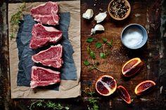 Lamb Chops & Blood Orange Sauce Ingredients