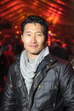 Be still my heart.  When I come back in my next life I want to be Daniel Dae Kim.