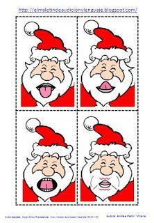Un modo divertente per fare le prassie con Babbo Natale