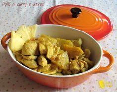 Pollo al curry e ananas ricetta etnica il chicco di mais