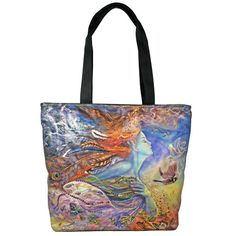 Kirks Folly by Josephine Wall Spirit of Flight Fairy Tote Bag    I adore Kirk's Folly and have been buying it for many years.