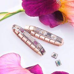 Rose Gold passion #lovenomination #fashion #jewellery #style #nominationitaly #rosegold #composable #bracelet #borntotellyourstories #createyourbracelet #nomination