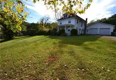 1913 - Sodus, NY - $200,000 - Old House Dreams Old Houses For Sale, Old House Dreams, Acre, Colonial, Mansions, House Styles, Home Decor, Decoration Home, Manor Houses