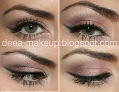 "Sleek ""Storm"" Look  http://deea-makeup.blogspot.ro/2011/10/sleek-storm-look.html"