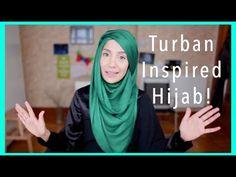 EID TUTORIAL! TURBAN INSPIRED HOOJAB! | Amena - YouTube Turban Tutorial, Hijab Tutorial, Muslim Fashion, Hijab Fashion, Women's Fashion, Mehndi Images, Turban Style, Hijab Outfit, Wasting Time