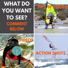 What do you want to see more images of? #windsurfing #windsurfwarriors