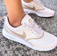 online retailer 274cf 47e8e Nude Nike trainers. Stephania Cervantes · Shoes