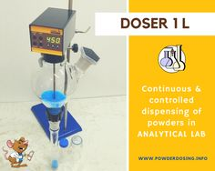 LAMBDA Powder DOSER: Automated powder dosing for sample preparation processes in life sciences, pharmaceutical and analytical laboratories