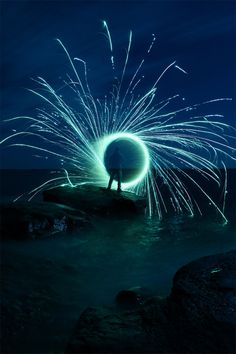 Light Painting by Twin Cities Brightest #light_art