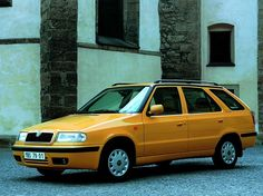"Škoda Felicia Combi ""Color Line"" Worldwide(Type Volkswagen Group, Cars And Motorcycles, Techno, Felicia, Classic Cars, Vans, Vehicles, Evolution, Clever"