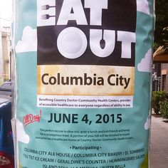 Live near Columbia City? Support Country Doctor Community Health Centers by eating out on June 4th! A portion of your meal goes to Country Doctor clinics! on.fb.me/1KFcpir