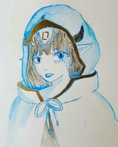 """Hidden pain"" Finally using my gold oil pen on this paint"