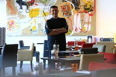 Le restaurant Victor Café à Marseille et la cuisine de Jérôme Pollo Restaurant, Furniture, Home Decor, Kitchens, Decoration Home, Room Decor, Home Furnishings, Restaurants, Dining Room