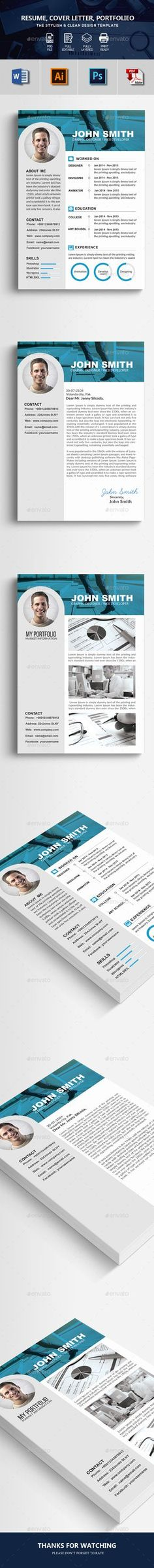 Pages Resume Templates  Template Resume Cv And Cv Cover Letter