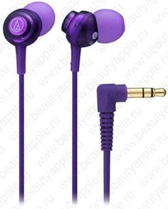 Купить Audio-Technica ATH-CKL202 PL (фиолетовый), доставка по Москве и всей РФ.