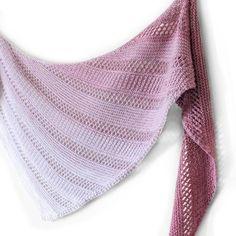 lace knitting Winterlight Knitting pattern by Meg Gadsbey Knitted Shawls, Crochet Scarves, Knit Or Crochet, Crochet Shawl, Knitting Accessories, Easy Knitting, Knitting Wool, Garter Stitch, Knitting Patterns