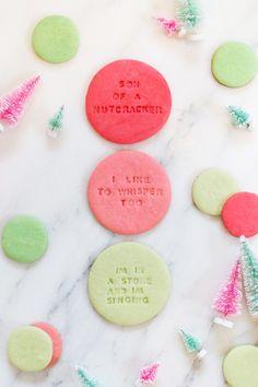 Elf Quote Christmas Cookies --------> http://tipsalud.com