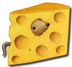 Mouse and Cheese Cheese Drawing, Mouse Pictures, Cute Mouse, Happy Fun, Cute Creatures, Art Plastique, Cute Illustration, Clipart, Pet Birds