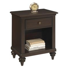 online shopping for Bermuda Expresso Night Stand Home Styles from top store. See new offer for Bermuda Expresso Night Stand Home Styles White Nightstand, Nightstand Ideas, Wood Nightstand, Bedroom Furniture, Home Furniture, Furniture Outlet, Online Furniture, Cheap Furniture, Mesas