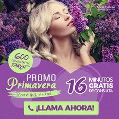 Disfruta de esta nueva oportunidad para conseguir minutos #gratis de #Tarot con esta #promoción especial de edición limitada ¡Date prisa, que vuelan!