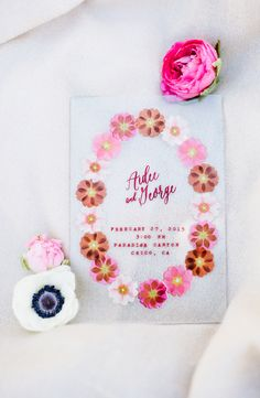 acrylic wedding invitation - photo by Shannon Rosan Photography http://ruffledblog.com/eco-friendly-california-wedding-with-marsala #weddinginvitations #stationery #invitations