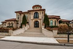 Italian style mansion, Frisco, Texas