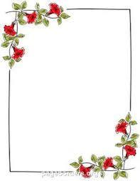 Image Result For Corel Draw Transparent Floral Page Border