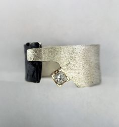 Princess Ring by Dagmara Costello: Gold, Silver & Stone Ring available at www.artfulhome.com