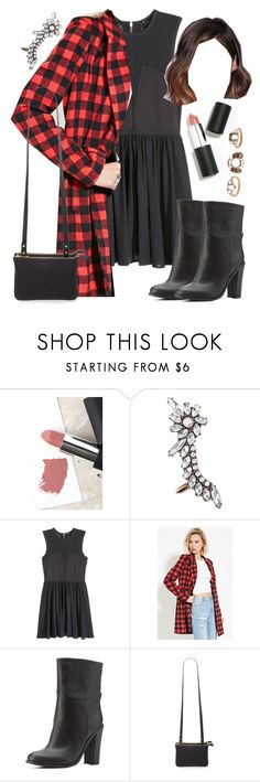 """Aria Montgomery inspired dinner party outfit"" by liarsstyle ❤ liked on Polyvore featuring Sigma, Forever 21, H&M, Charlotte Russe, party, Dinner and WF"
