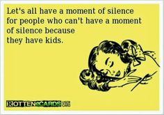 Moment of silence over here ... as I sip my wine and enjoy my movie!  In silence.