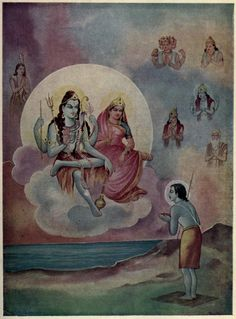 Shiva Parvati Bless Krishna http://www.findmessages.com/the-birth-of-samba