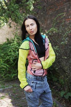 #madox #madoxdesign #denim #fluo #jacket #nike #runfashion