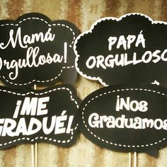 Discover recipes, home ideas, style inspiration and other ideas to try. Graduation Crafts, Graduation Cap Decoration, Cap Decorations, Mexican Party, Photo Booth Props, Grad Parties, Hand Lettering, Diy And Crafts, Selfies