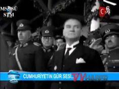 Atatürk'ün 89 Yıl Sonra Yeni Görüntüleri, Gülen Yüzüne Hasret, Fransız Arşivlerinden - YouTube